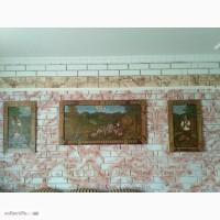 Продам картина різьба по дереву 3 шт (комплект)