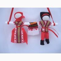 Подарок-оберег Неразлучники Кукла-мотанка. Подарок в дом
