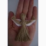 Оберег и подарок. Кукла-мотанка Ангелочек Подарок в дом