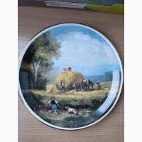 Старинная английская тарелка фарфор