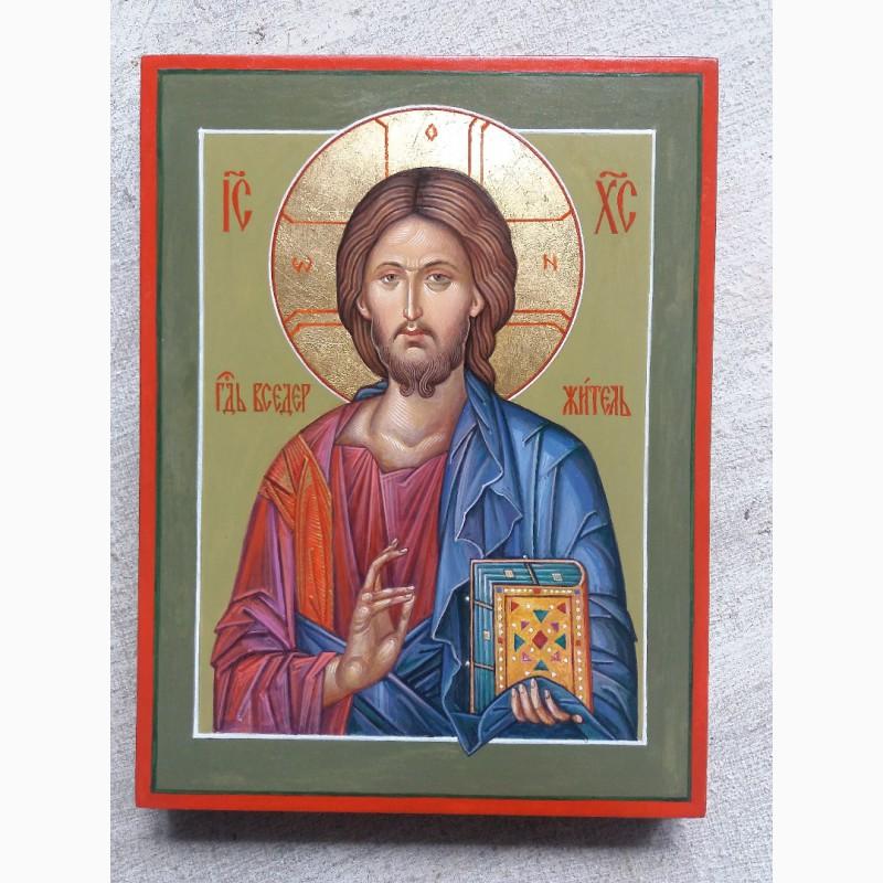 Фото 2. Икона Господь Вседержитель (Пантократор). Спаситель. Иисус Христос