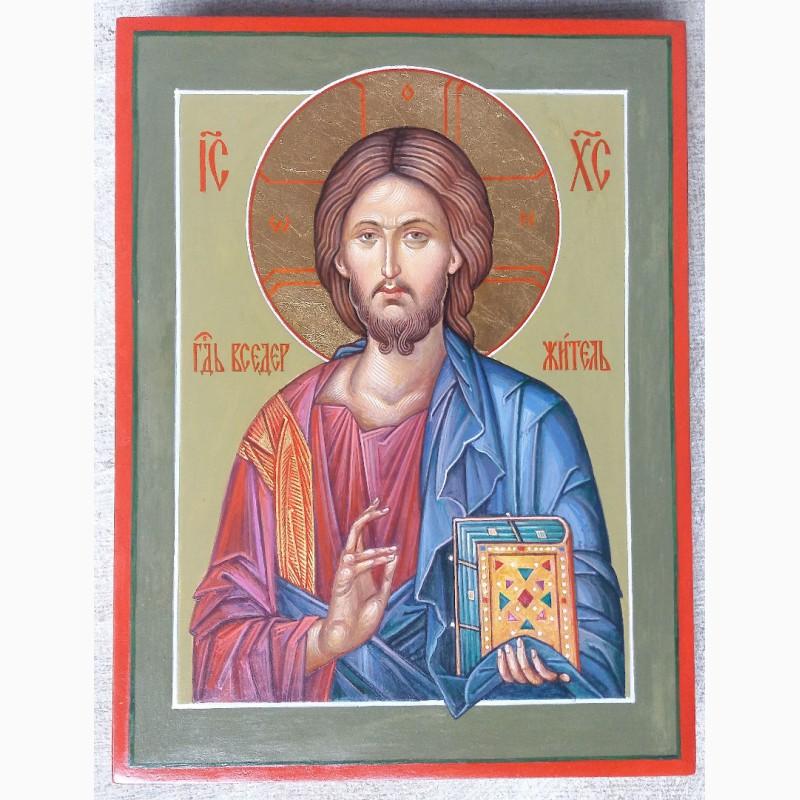 Фото 3. Икона Господь Вседержитель (Пантократор). Спаситель. Иисус Христос