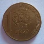 1 песо Доминикана