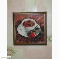 Картина Кофе с розой