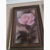 Продам вишиту картину роза