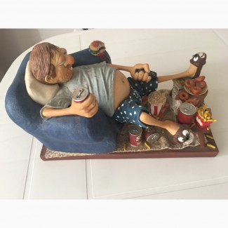 Продам, статуэтку соврём французский фарфор, Кайф, Любитель ТВ''90- годы20 века