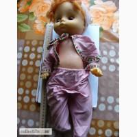 Кукла мальчик в ползунках, плачущий, 40см. ГДР СССР