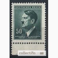 Deutsches Reich. Bohmen und Mahren. 1942г. SC 94, MI 92
