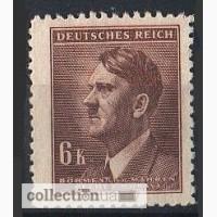 Deutsches Reich. Bohmen und Mahren. 1942г. SC 107, MI 105