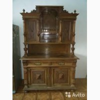Интересует старинная мебель