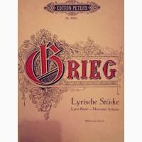 Ноты Григ произведения для фортепиано 1том