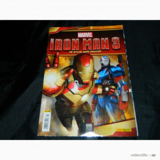 Журнал Комиксы Iron Man 3 Official Movie Magazine Marvel