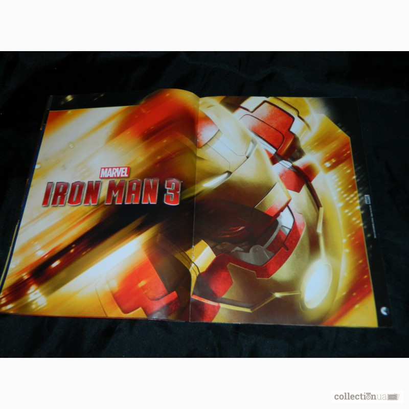 Фото 4. Журнал Комиксы Iron Man 3 Official Movie Magazine Marvel