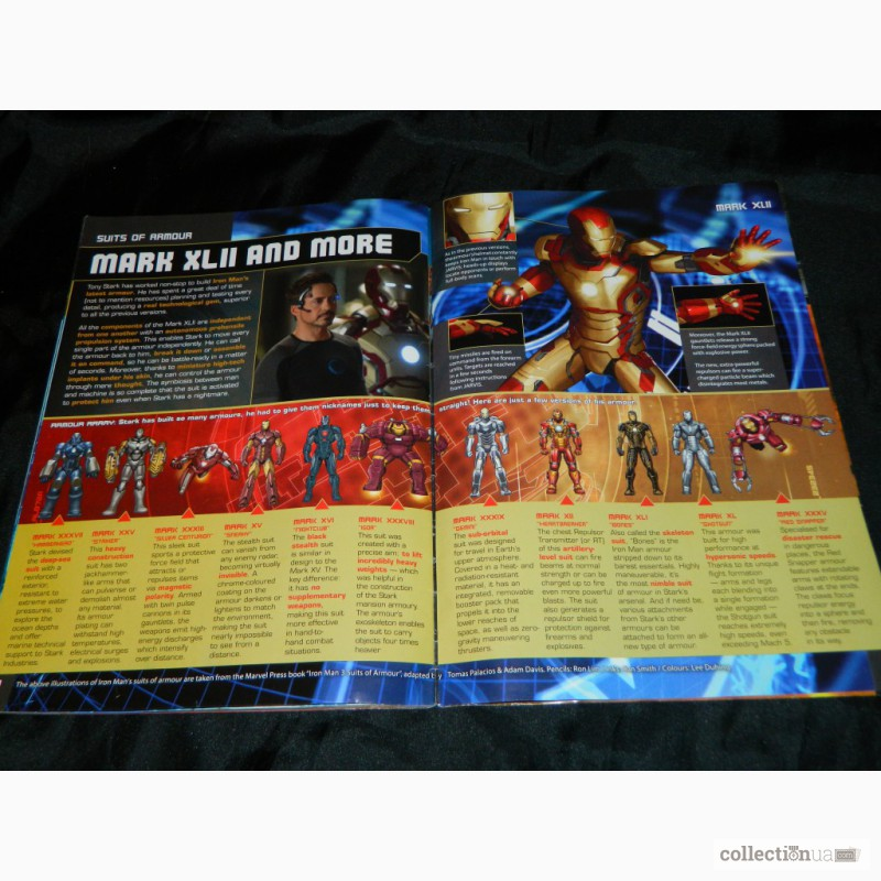 Фото 6. Журнал Комиксы Iron Man 3 Official Movie Magazine Marvel