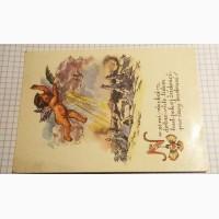Чехословакия. Рождественская открытка. Лот 256