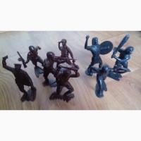 Солдаты, Викинги, размер около 15 см