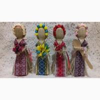 Handmade. Кукла-мотанка Берегиня Подарок-оберег в дом. Рост 10, 15, 22, 26 см