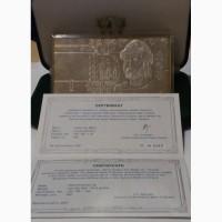 Серебрянная банкнота 1 гривна 2007 г