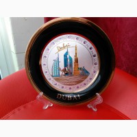 Сувенирная тарелка (оаэ) диаметр 20 см