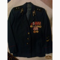 Продам парадный китель прапорщика СССР с 7 медалями.