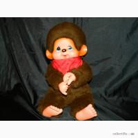 Большая Кукла Обезьянка Monchhichi Мончичи 42см Sekiguchi 1974 Япония