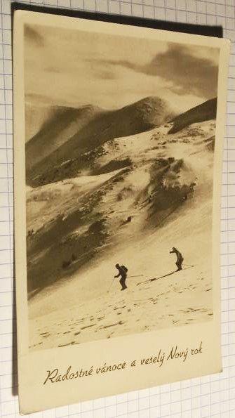 Фото 2. Чехословакия. Рождественская открытка. Лот 258