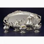 Принимаем столовое серебро различных видов