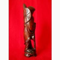 Китайская старинная деревянная статуэтка из ценного дерева Rose Tree