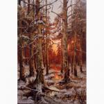 Картина Захід сонця