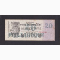 20 000 000 марок 1923г. 23v 137814. Германия