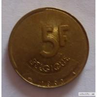 5 франков Бельгия