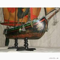 Модель итальянской рыбацкой лодки