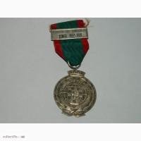 Медаль Португалия за военную компанию Ангола 1961-62-63 серебро