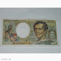 Бона Франция 200 франков 1990 - 200 Francs France 1990