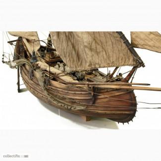 Модель португальской рыбацкой лодки - мулеты