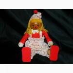 Деревянная Кукла Клоун 25см