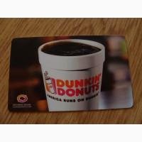 Карточка подарочная Dunkin#039; Donuts