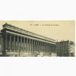 Открытка (ПК). Франция. Лион. Дворец правосудия. 1910г. Лот 192