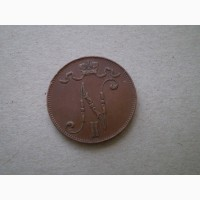 5 пенни 1915г. Россия для Финляндии
