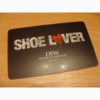 Карточка подарочная DSW