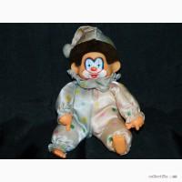 Винтажная Кукла Обезьянка Monchhichi Corky Clown Мончичи Клоун 80х г
