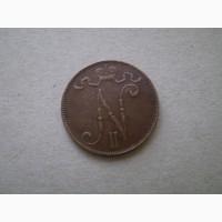 5 пенни 1906г. Россия для Финляндии