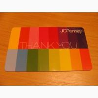 Карточка подарочная J.C.Penney
