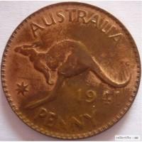 1 пени 1941 Австралия