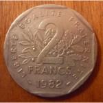 Набор Франция 60-80е 4 шт
