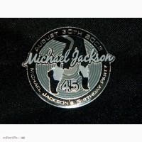 Очень Редкий Значок Michael Jacksons 45th Birthday Party