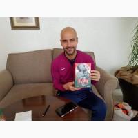 Автограф Пепа Гвардиолы на книге Пеп: конфиденциально