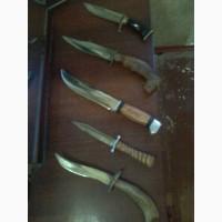 Продам коллекцию охотничьих ножей ручной работы