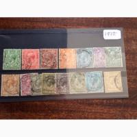 15 марок короля Великобритании Георга V